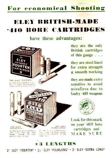 Eley-Kynoch Advert 1939